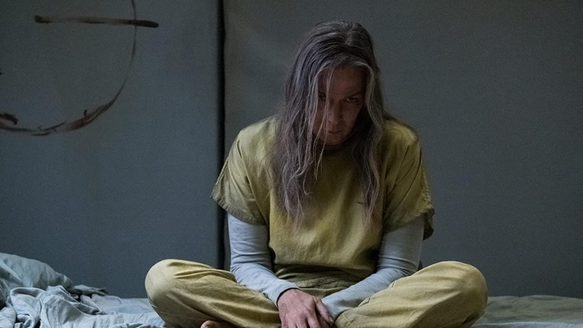 A body is a cage in the full trailer for Hulu's Marvel horror series Helstrom 2