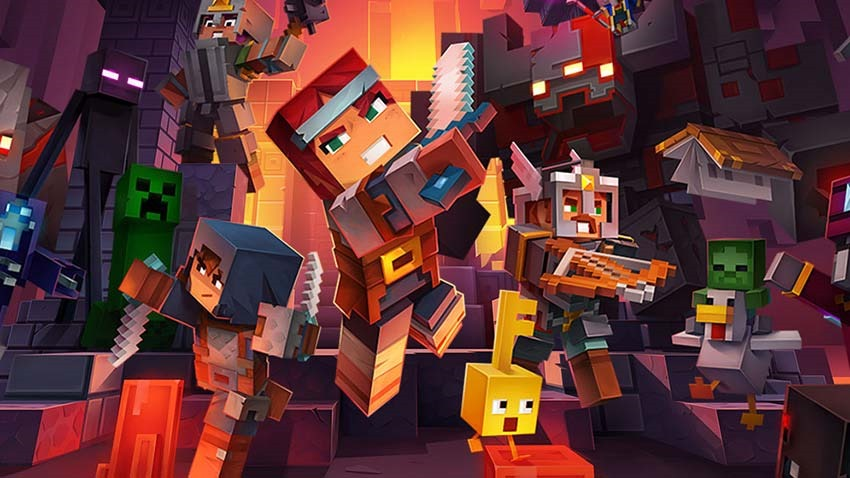 Win Minecraft Dungeons on PS4! - Critical Hit