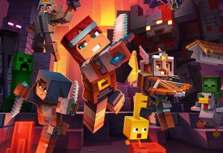 Win Minecraft Dungeons on PS4! 13