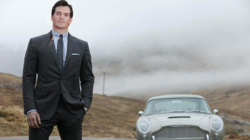 Machine Learning program picks Henry Cavill as the next James Bond 3