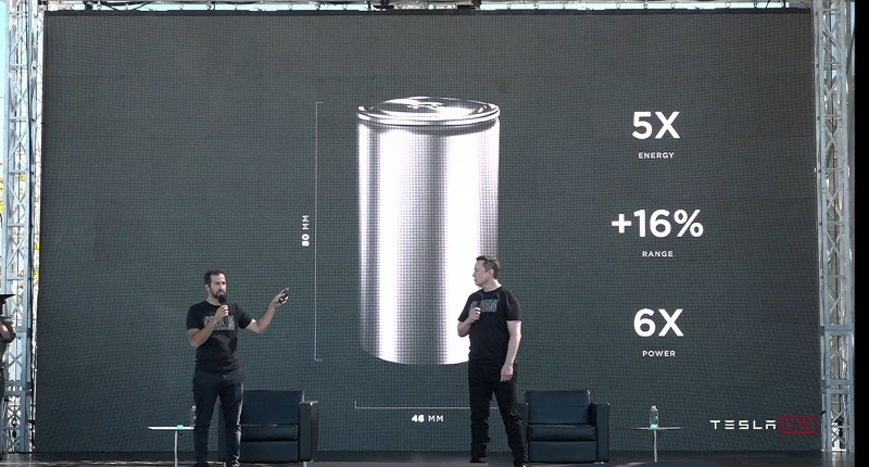 "Tesla unveils plans for a ""tabless"" battery that massively multiplies power 7"