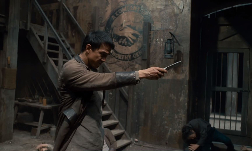 Warrior S2: We chat to martial arts star Joe Taslim about mixing drama with fighting 11