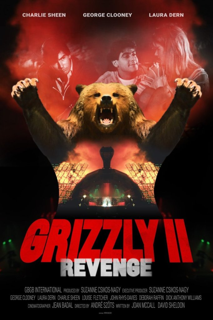 Grizzly II, the terrible 1983 movie debut of George Clooney, Charlie Sheen, and Laura Dern, is finally being released - Watch the trailer 10
