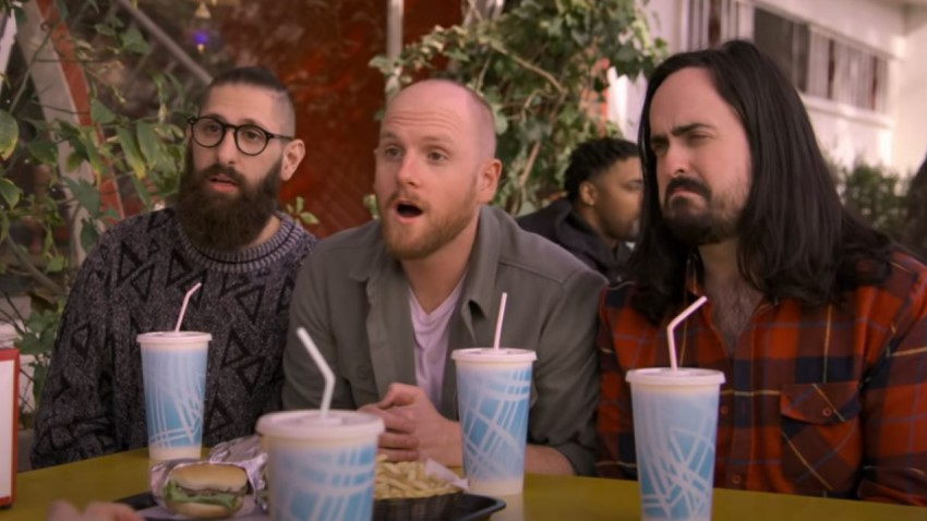 Meet your new best mates in Netflix's surreal sketch comedy series Aunty Donna's Big Ol' House of Fun 2