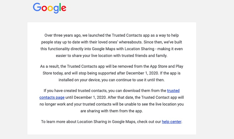 Google discontinues its Nest Secure product and Trust Contacts app 4