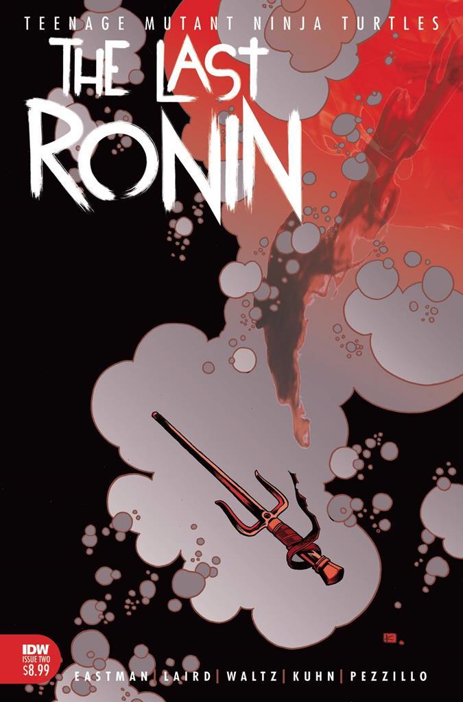 TMNT: The Last Ronin is an R-rated Teenage Mutant Ninja Turtles saga 8