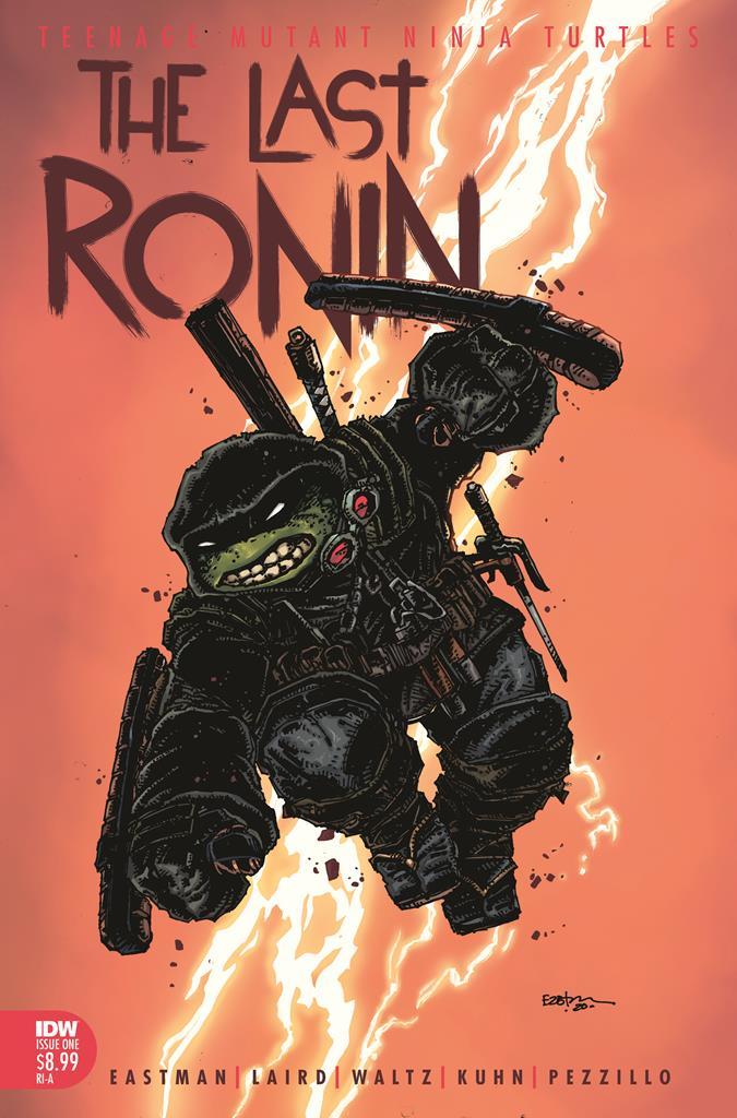 TMNT: The Last Ronin is an R-rated Teenage Mutant Ninja Turtles saga 9