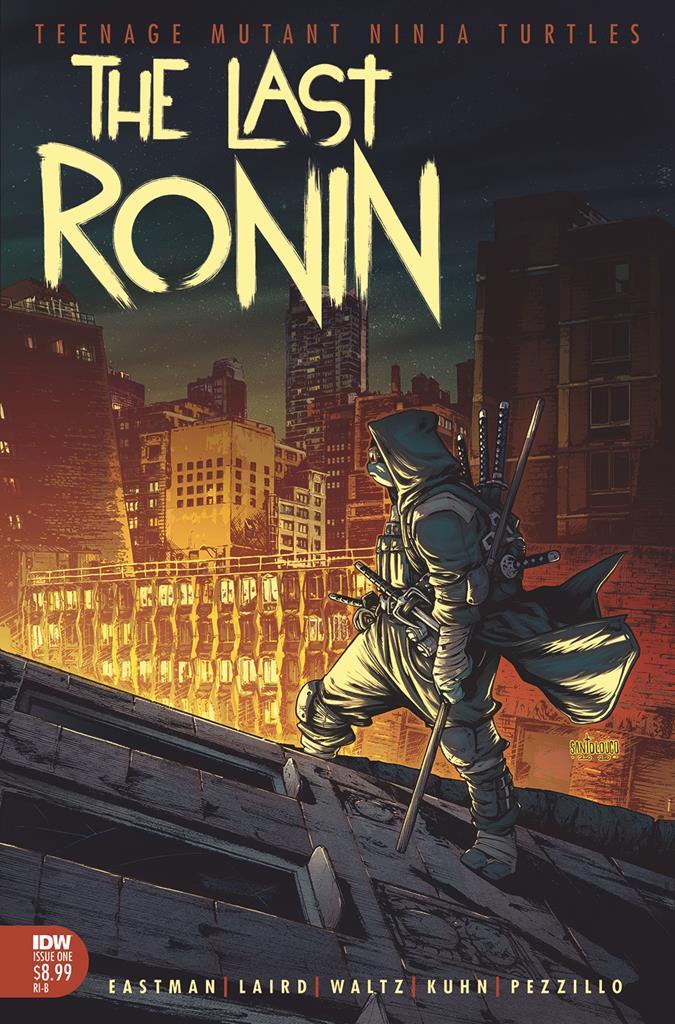 TMNT: The Last Ronin is an R-rated Teenage Mutant Ninja Turtles saga 10