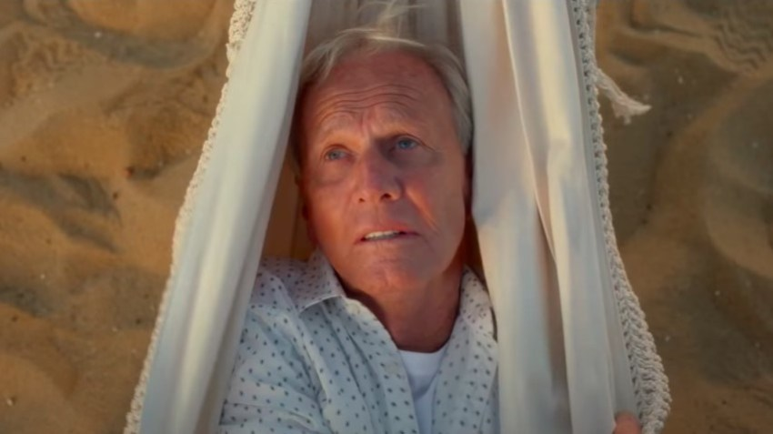 Paul Hogan stars in the meta-comedy The Very Excellent Mr. Dundee 6