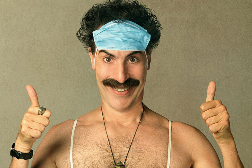 Is nice! Watch the first trailer for the secretly filmed Borat 2 3