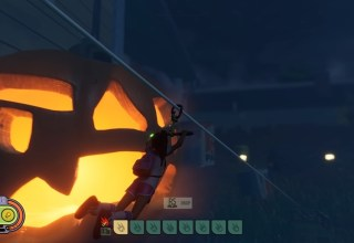 Grounded's latest update adds ziplines and Halloween cheer 10