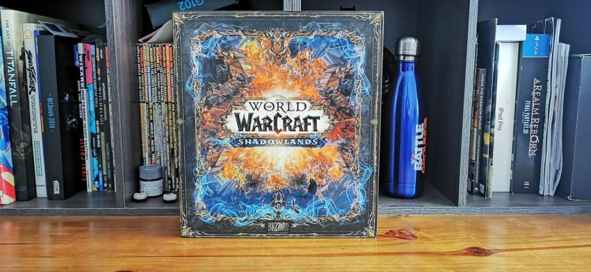 Behold the resplendent glory of this World of WarCraft: Shadowlands Epic Collector's Edition unboxing! 16