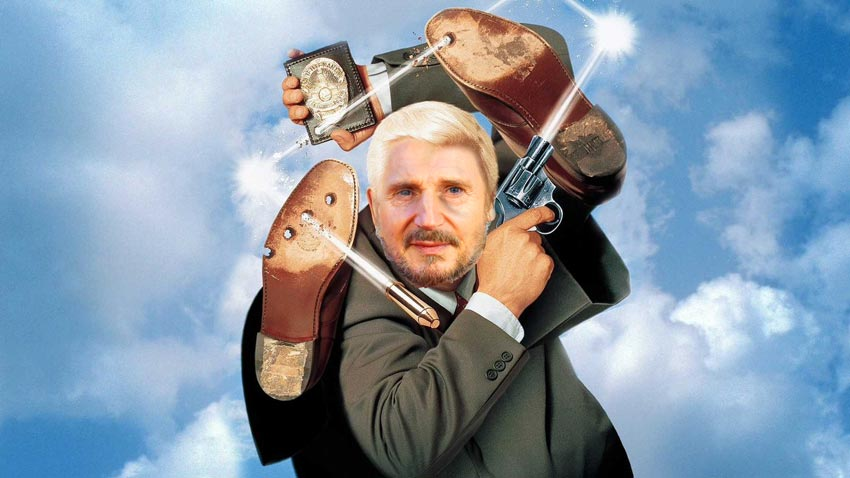 Liam Neeson says that Seth MacFarlane has approached him to headline the Naked Gun reboot 3