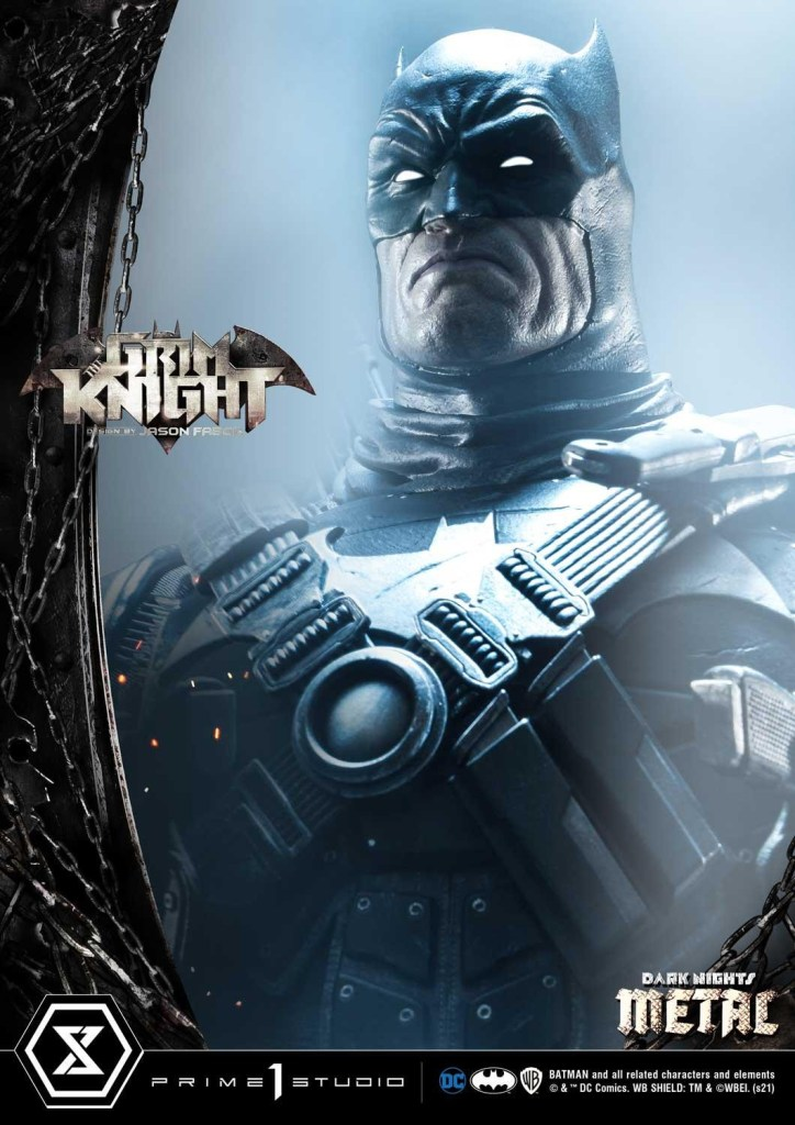 The Grim Knight Batman who really loves guns is getting an amazing $1300 statue collectible 27