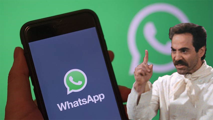 No WhatsApp for you after February 8 unless you give Facebook permission to harvest your data 3