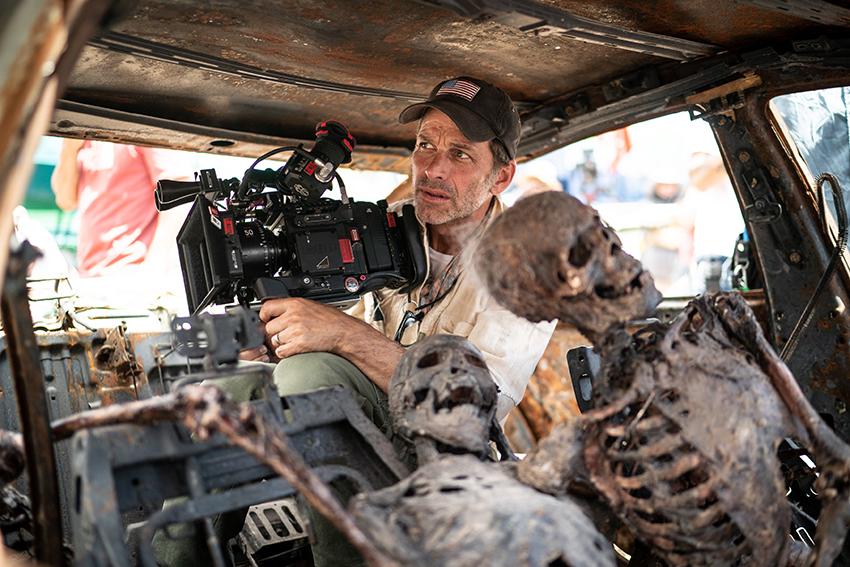 "Army of the Dead: First look at Zack Snyder's ""balls-to-the-wall zombie heist movie"" 7"