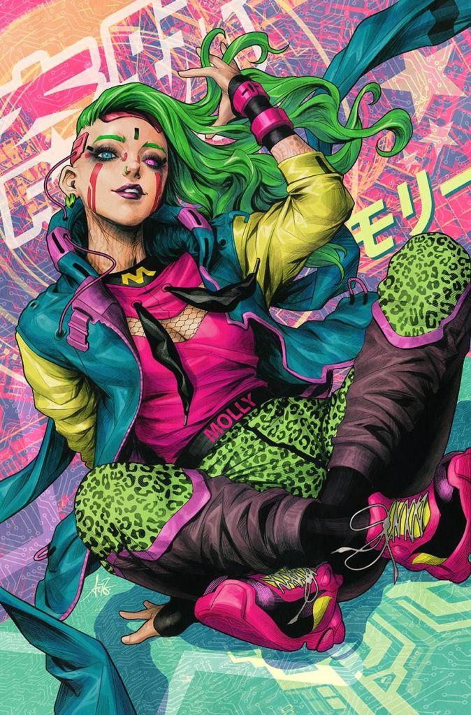 Batman's next big villain is cyberpunk tech genius Miracle Molly 11
