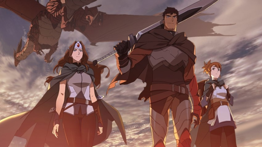 Netflix and Valve team up for the animated series DOTA: Dragon's Blood 2