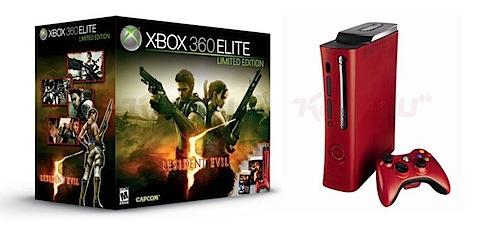 Red Xbox 360 Elite
