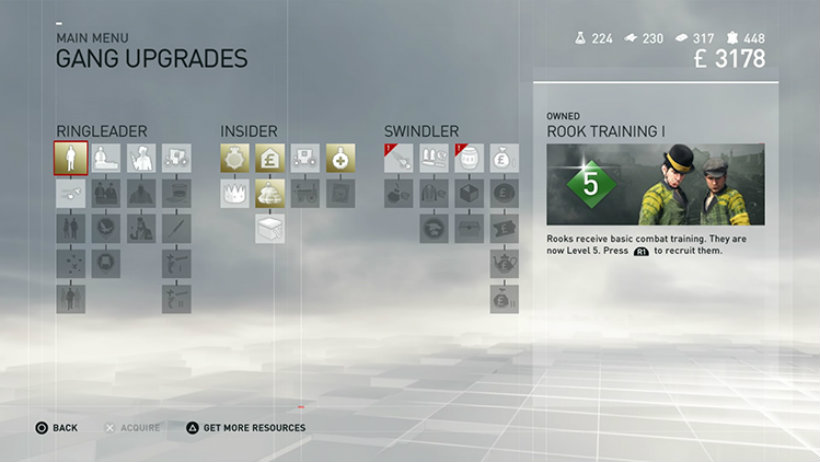 Assassin s creed syndicate gang upgrades
