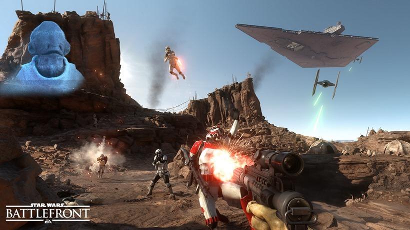 Star Wars Battlefront low/high settings comaprison