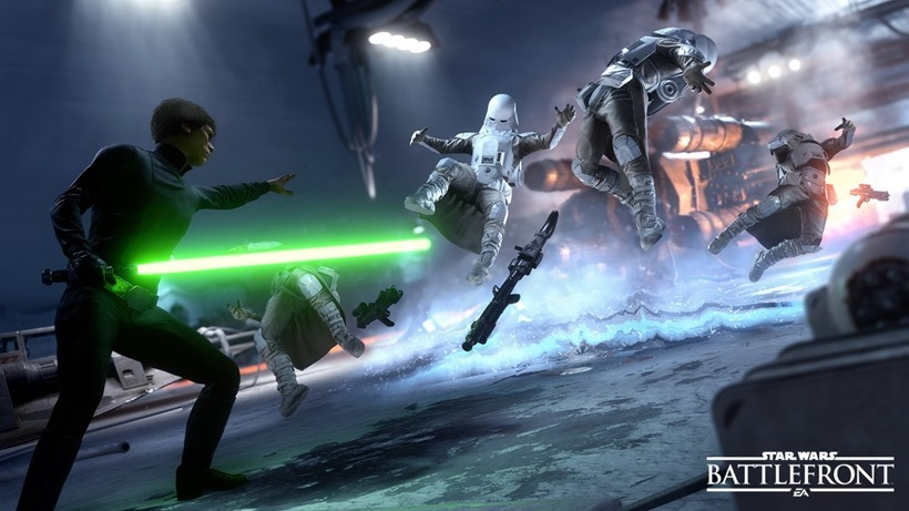 Star Wars Battlefront hero gameplay isn't fantastic