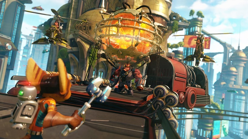 Ratchet and Clank get new PS4 trailer