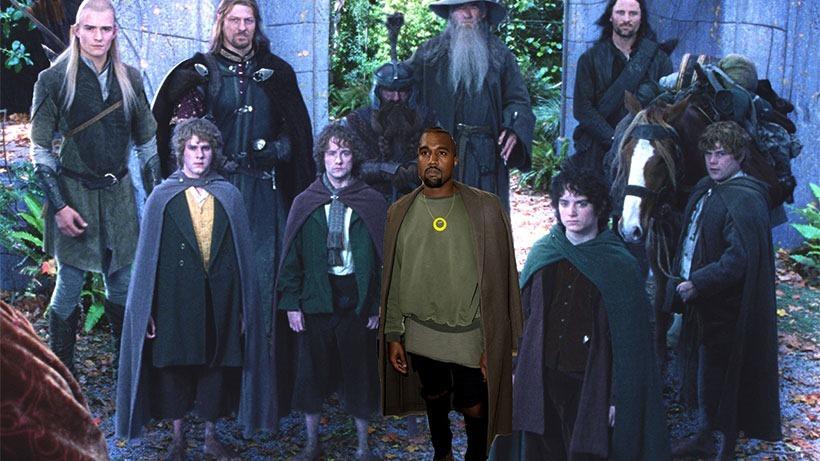 Kanye dit glo?