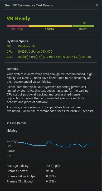 Steam VR Test