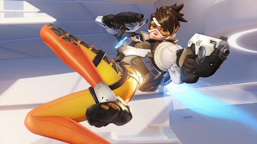 Blizzard removes sexulised Tracer pose