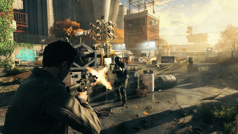 Quantum Break Summer Showcase gameplay