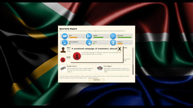 Democracy 3 africa hiv