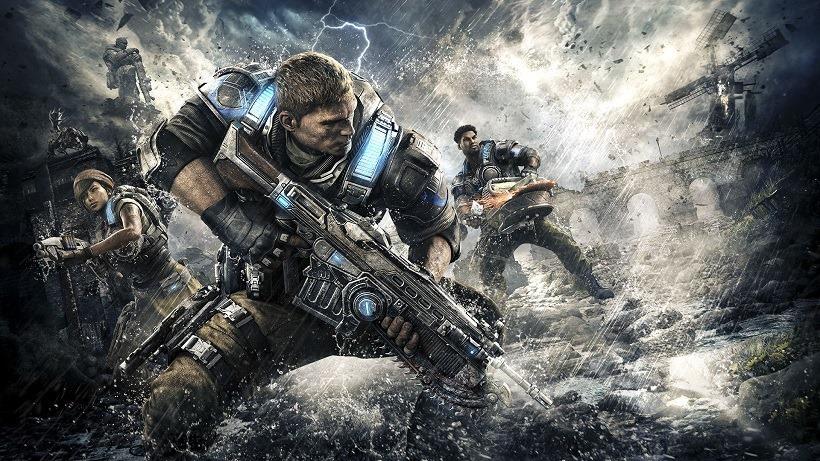 Gears of war 4 pre-load is live
