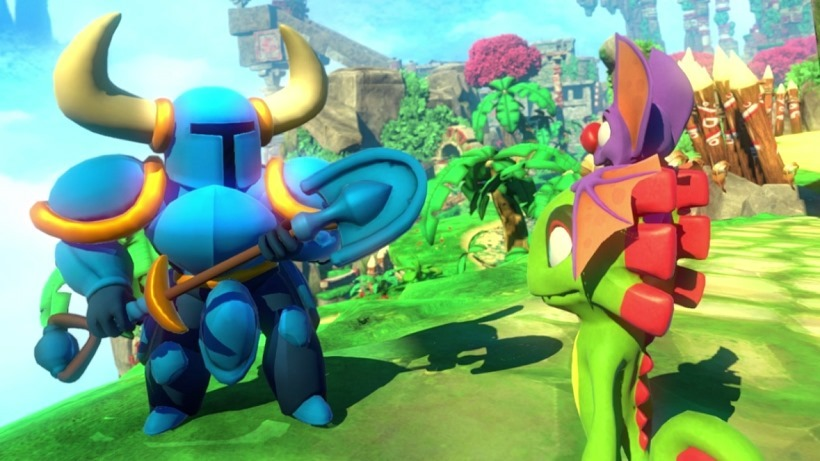 Shovel Knight enters Yooka Laylee 2