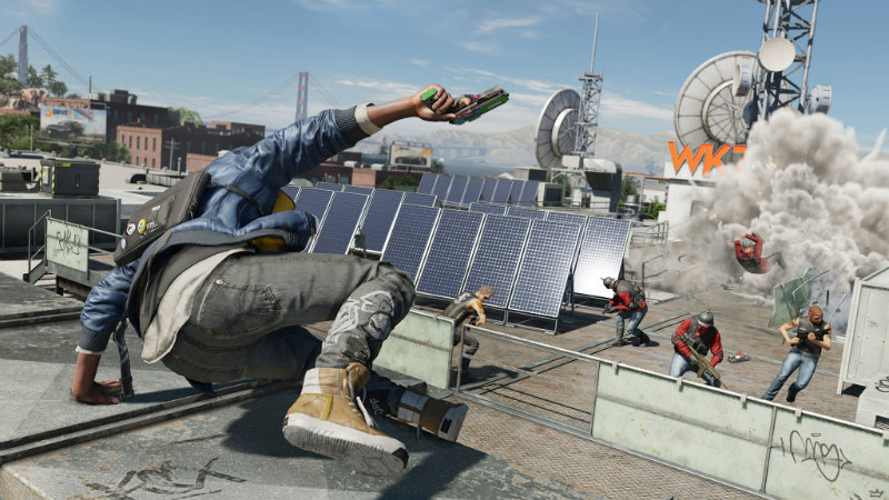 Watch dogs 2 parkour