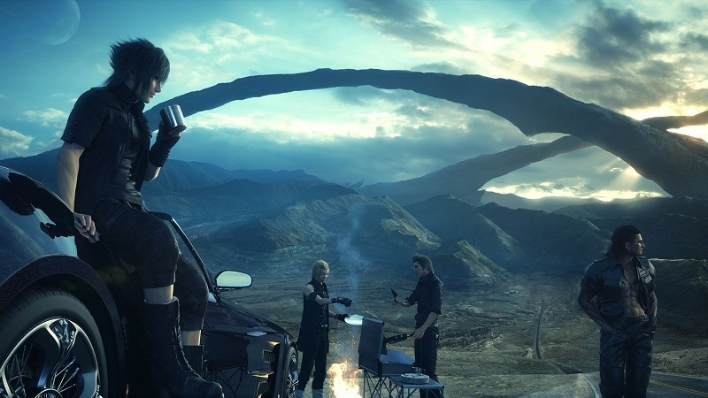 Final Fantasy XV Omen header