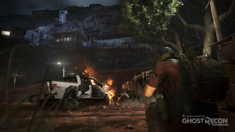Ghost recon wildlands stealth takedown mission shot 1