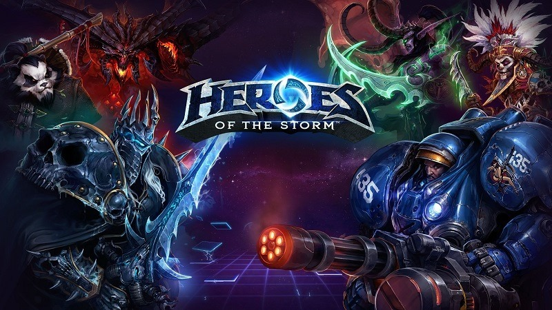 Heroes of the Storm header
