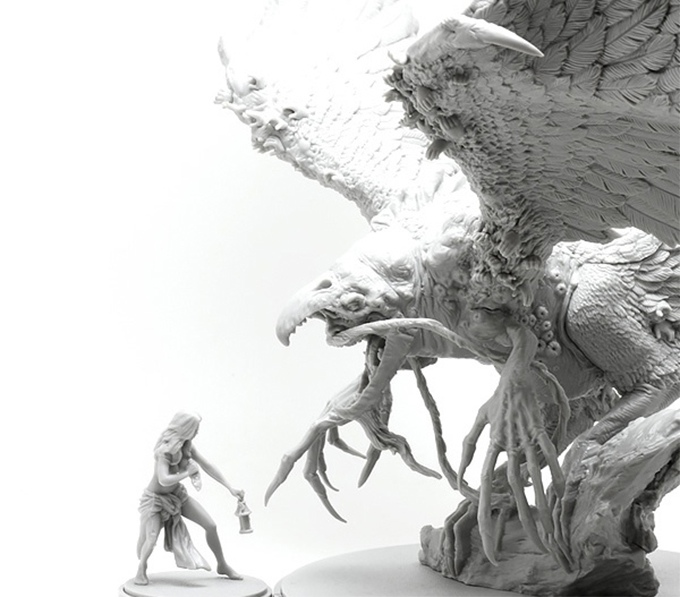 Kingdom Death Monster Phoenix