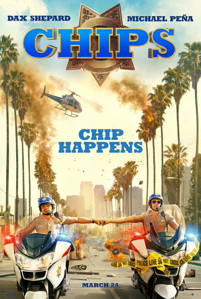 Someone is going to get hurt in this first trailer for CHiPs 4