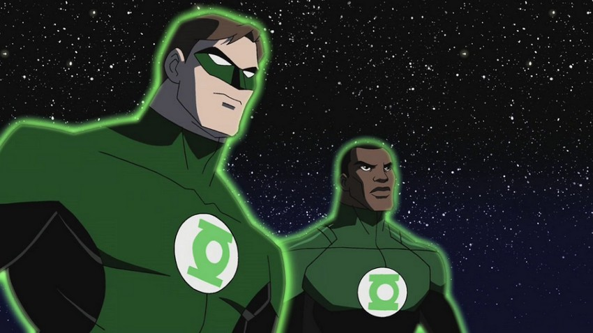 "Green Lantern Corps will be ""Lethal Weapon in space""; focuses on Hal Jordan and John Stewart  6"