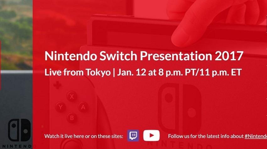 Nintendo Switch Event