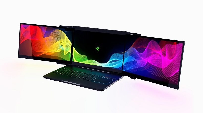 Razer's three screen laptop is ridiculous, and could soon be a reality 4