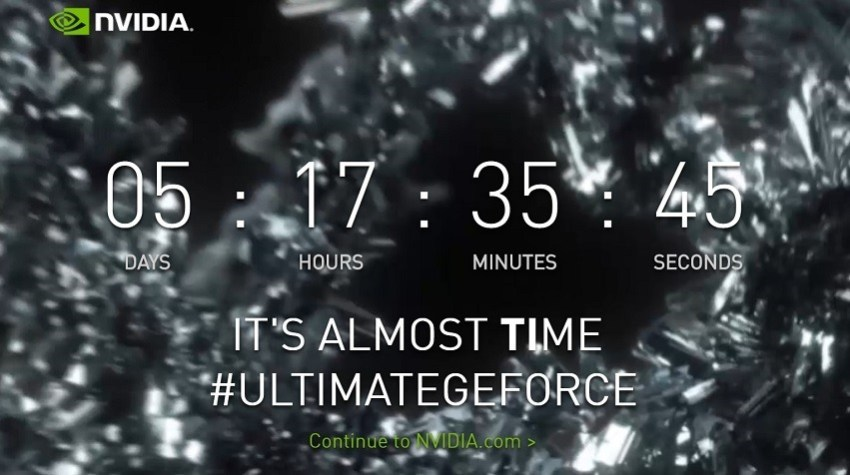 GTX 1080Ti teaser on GeForce website