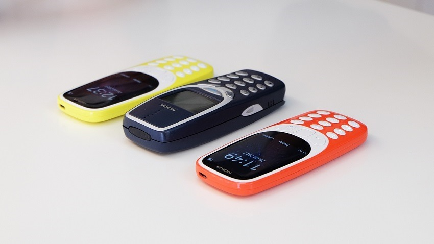 Nokia brings back the 3310