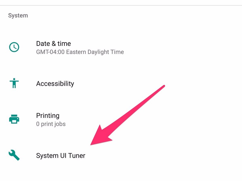 Android has a secret menu that allows you to further fine tune your device 12