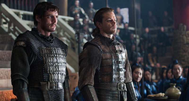 The Great Wall review round-up - Pretty. Stupid. Popcorn entertainment. 14