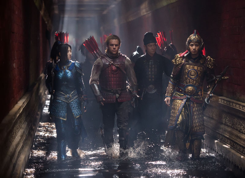 The Great Wall review round-up - Pretty. Stupid. Popcorn entertainment. 8