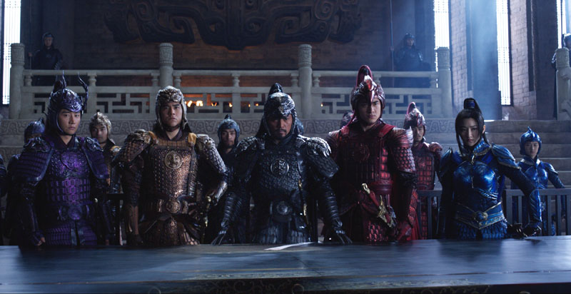 The Great Wall review round-up - Pretty. Stupid. Popcorn entertainment. 11