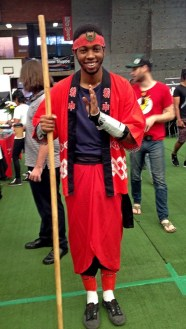 Andile as The Monkey King.